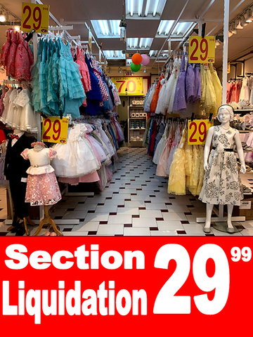 section liquidation 29.99 magasin