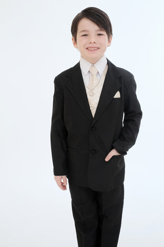 Boys suit (8225-gold)