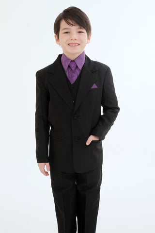 Boys suit (8226-purple)