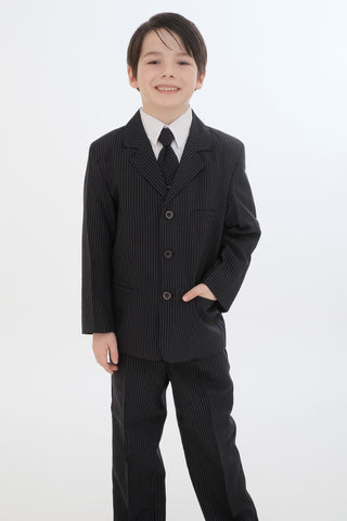 Boys suit (8221-Navy Stripe)