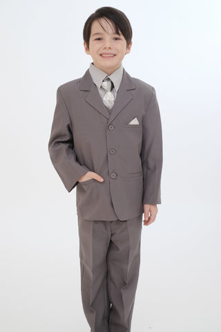 Boys suit (8218-Grey)