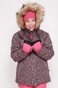 Habit de neige Fille Liquidation - Charcoal 3297