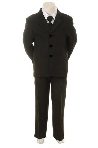 Boys Suit (8201-black)