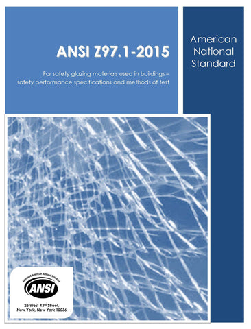 COMMITTEE MEMBER'S ONLY - ANSI Z97.1 - 2015 Clean