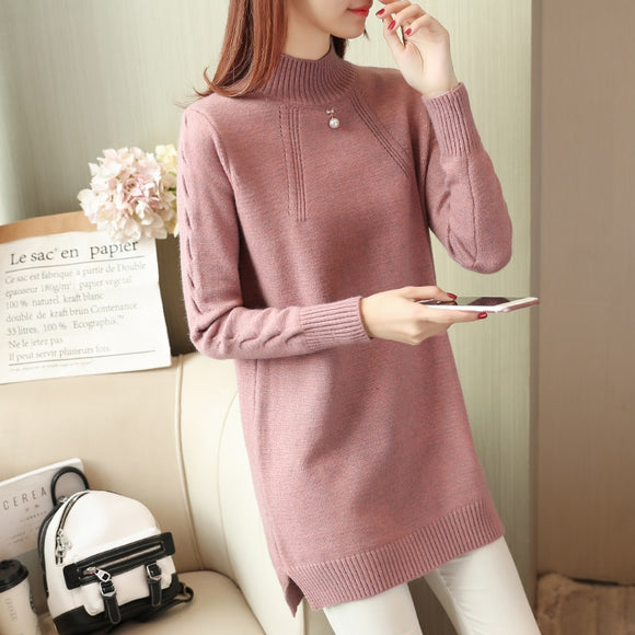 Cheap wholesale 2018 new summer Hot selling women's fashion casual warm nice Sweater  L395