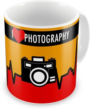 I Love Photography Coffee Mug 11oz