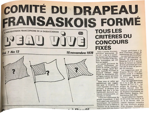 Article in Eau Vive from November 15, 1978