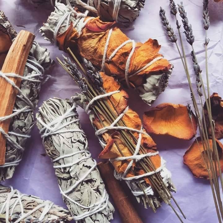 Sage+Rose Stick | Cleansing from Negative Energy