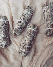 Load image into Gallery viewer, Naked Sage Stick  Sage Bundle for Ceremony, Meditation Altar, Home Cleansing,Positive Energy, Cleanse Negativity