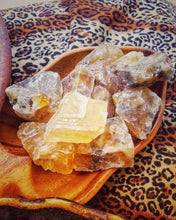 Load image into Gallery viewer, Honey Calcite Chunks | Glamour Stone/Abundance Stone