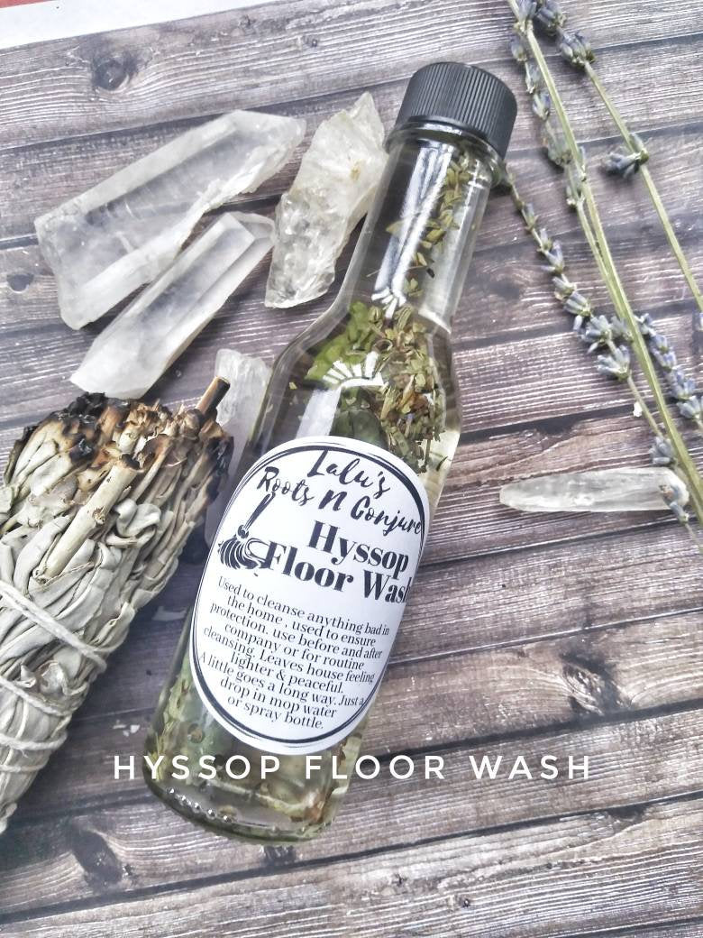 Hyssop Floor Wash | Purification