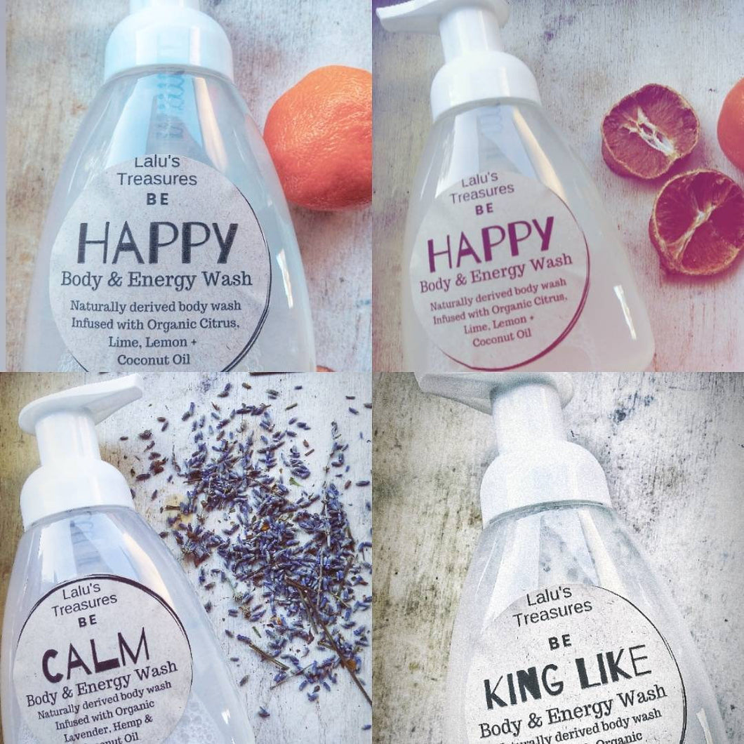 Body+Energy Soap Washes