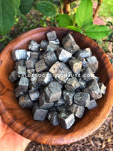Load image into Gallery viewer, Natural Pyrite Cubes for confidence, abundance and power