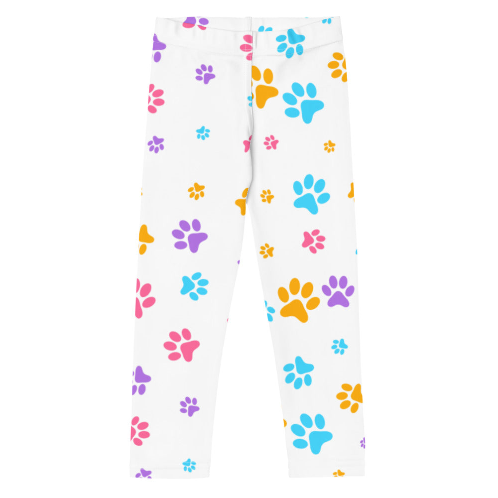 White Paws Leggings