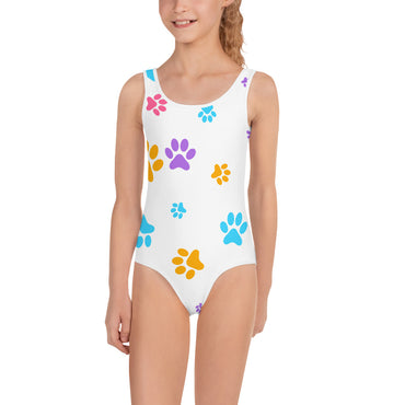 White Paws Swimsuit