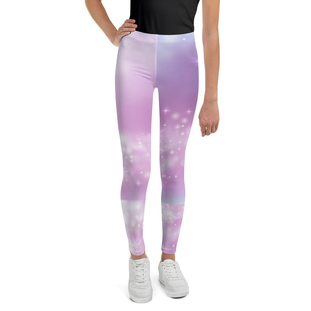 Purple Sparkle Leggings