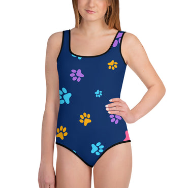 Blue Paws Swimsuit