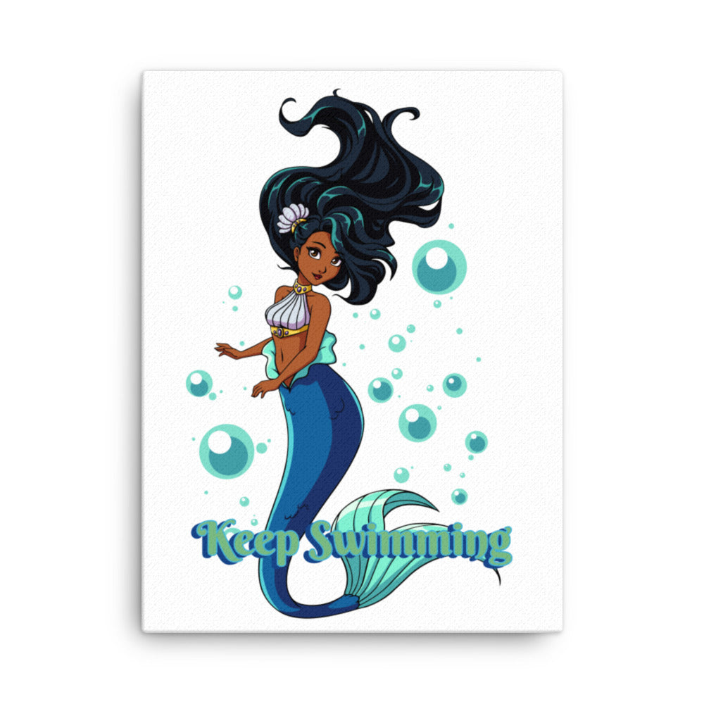 Keep Swimming Canvas