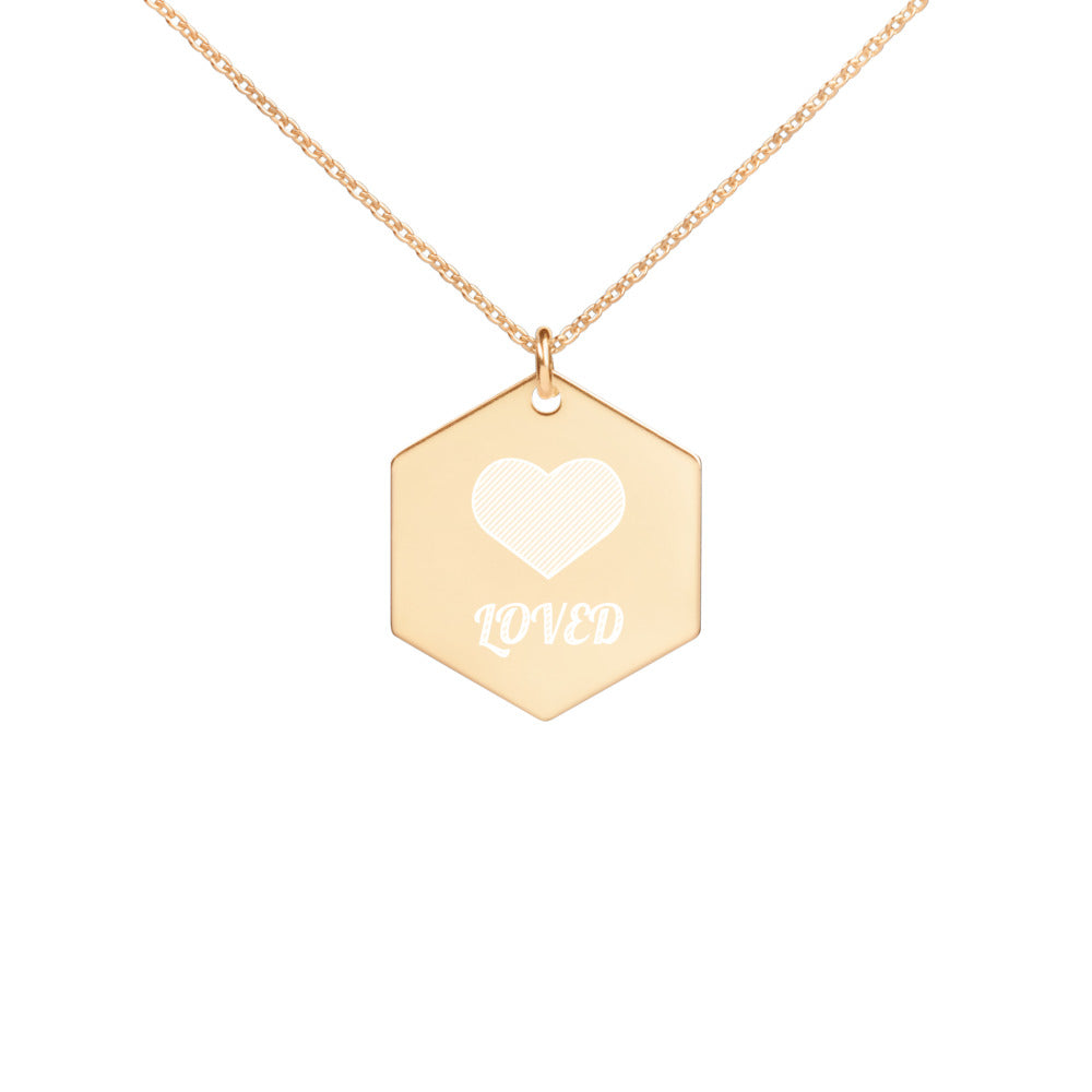 Loved Hexagon Necklace