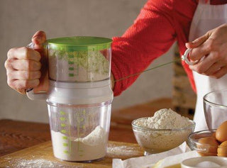 Easy Use See-Thru Sifter with Pull Cord (C)