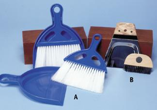 Tabletop Dustpan & Whisk Brush Sets (C)