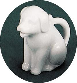 Creamer: Animal Dog Pouring Porcelain (C)
