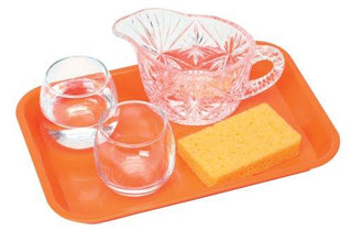 Basic Pouring Kit 5: (1 Crystal Like Plastic Pitcher, 2 Glass Cups) (C)