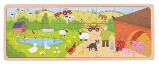 On the Farm Wooden Tray Puzzle (C)