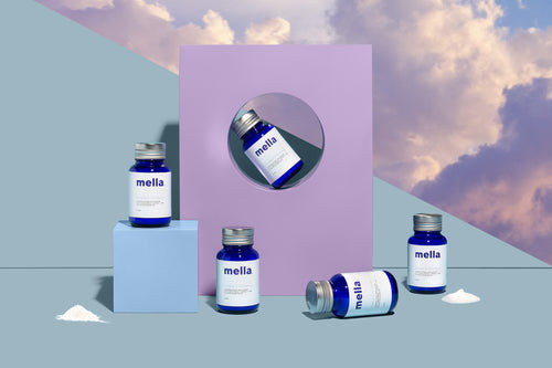 Mella by Veriant uses plant-derived melatonin to resynchronize your circadian rhythm and restore your skin, body, and mind for better wellbeing.