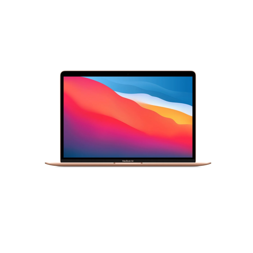 13-inch Macbook Air: Apple M1 Chip with 8-core CPU And 7-core GPU, 256GB - Gold