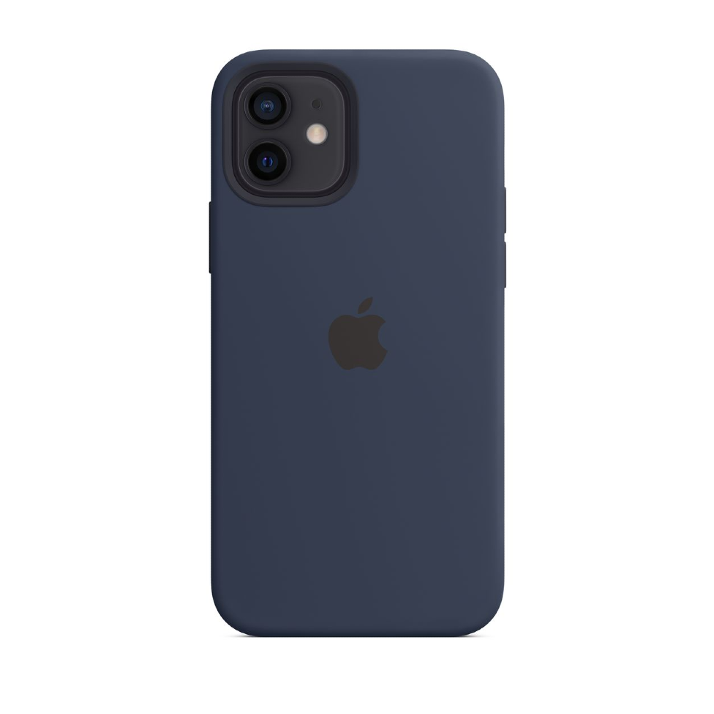 iPhone 12 | 12 Pro Silicone Case With MagSafe - Deep Navy