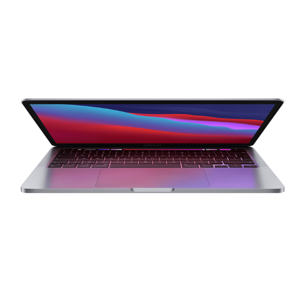 13-inch Macbook Pro: Apple M1 Chip with 8‑core CPU And 8‑core GPU, 256GB SSD - Space Grey