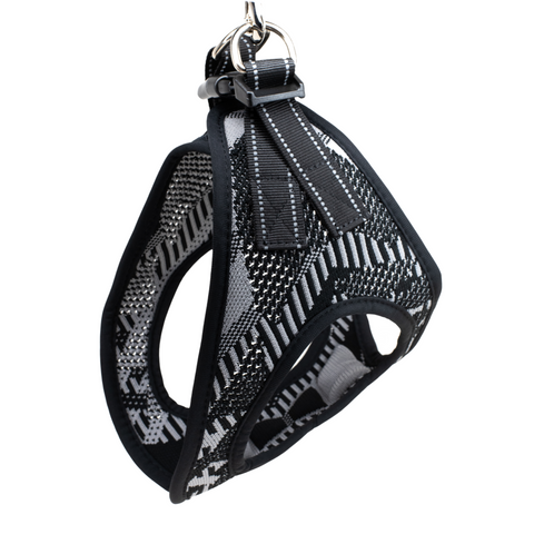Side view knit harness