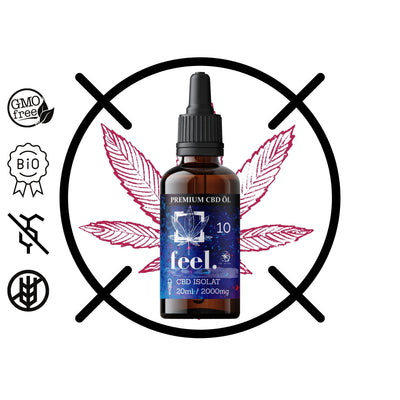 feel. CBD Isolat 10% - 20ml