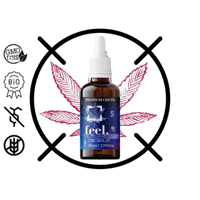 feel. CBD Isolat 5% - 20ml