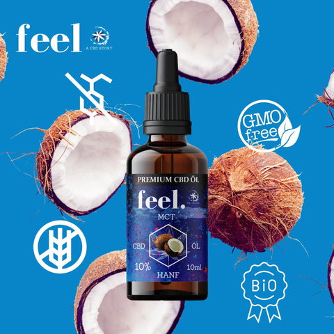 feel. CBD MCT Öl 10% - 10ml