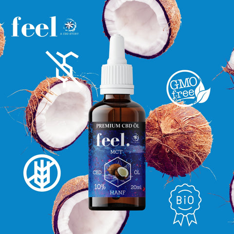 feel. CBD MCT Öl 10% - 20ml