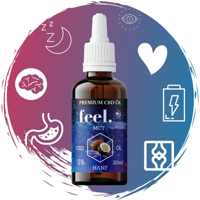 feel. CBD MCT Öl 5% - 20ml