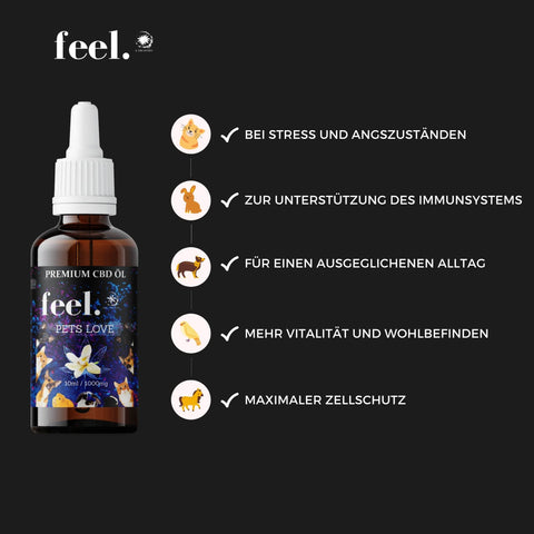feel. CBD Pets Love 10% - 10ml