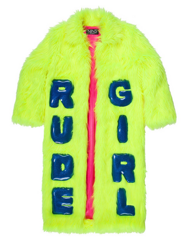 THE RUDE GIRL COAT - NIN3 shop till you pop