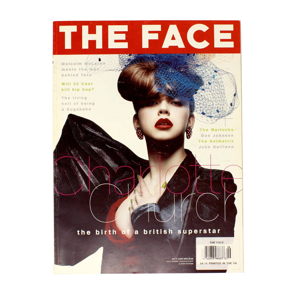 THE FACE 2003 - shop sideara