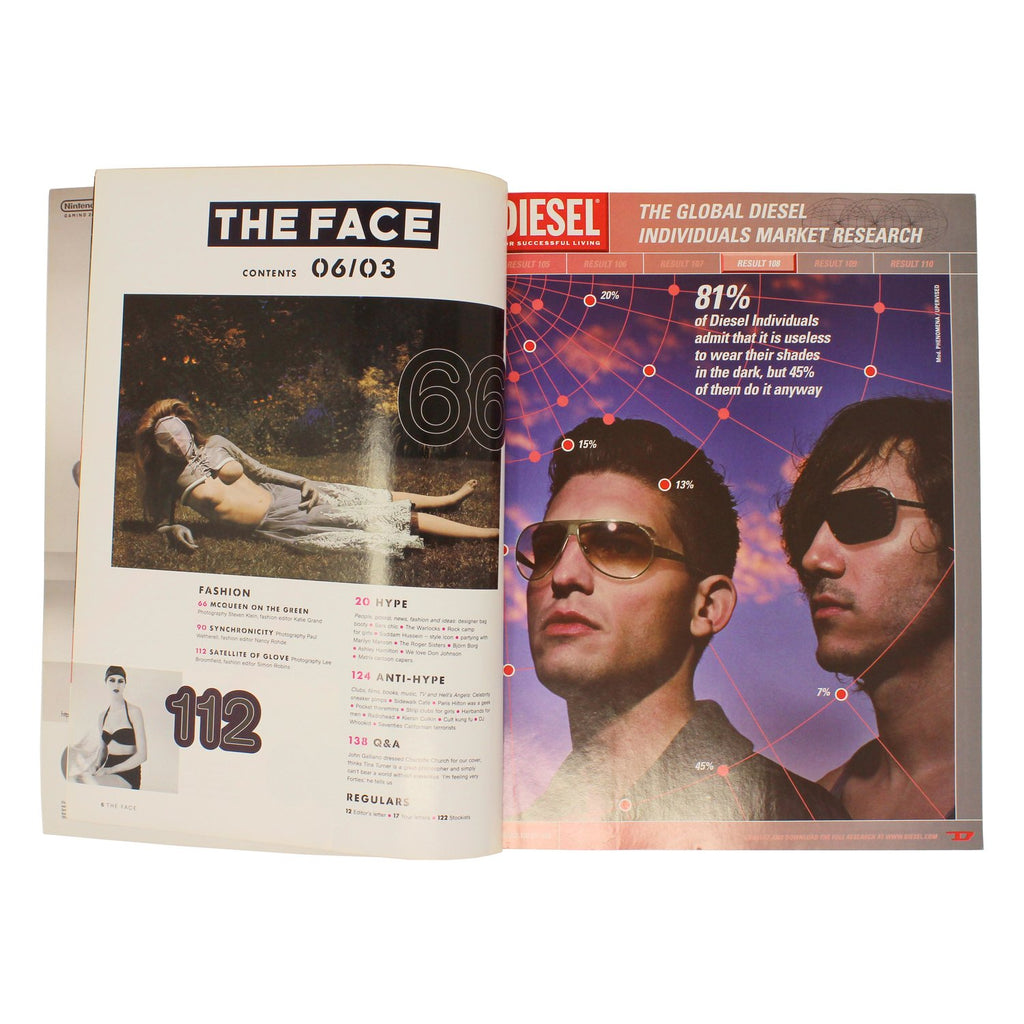 THE FACE 2003 - NIN3 shop till you pop