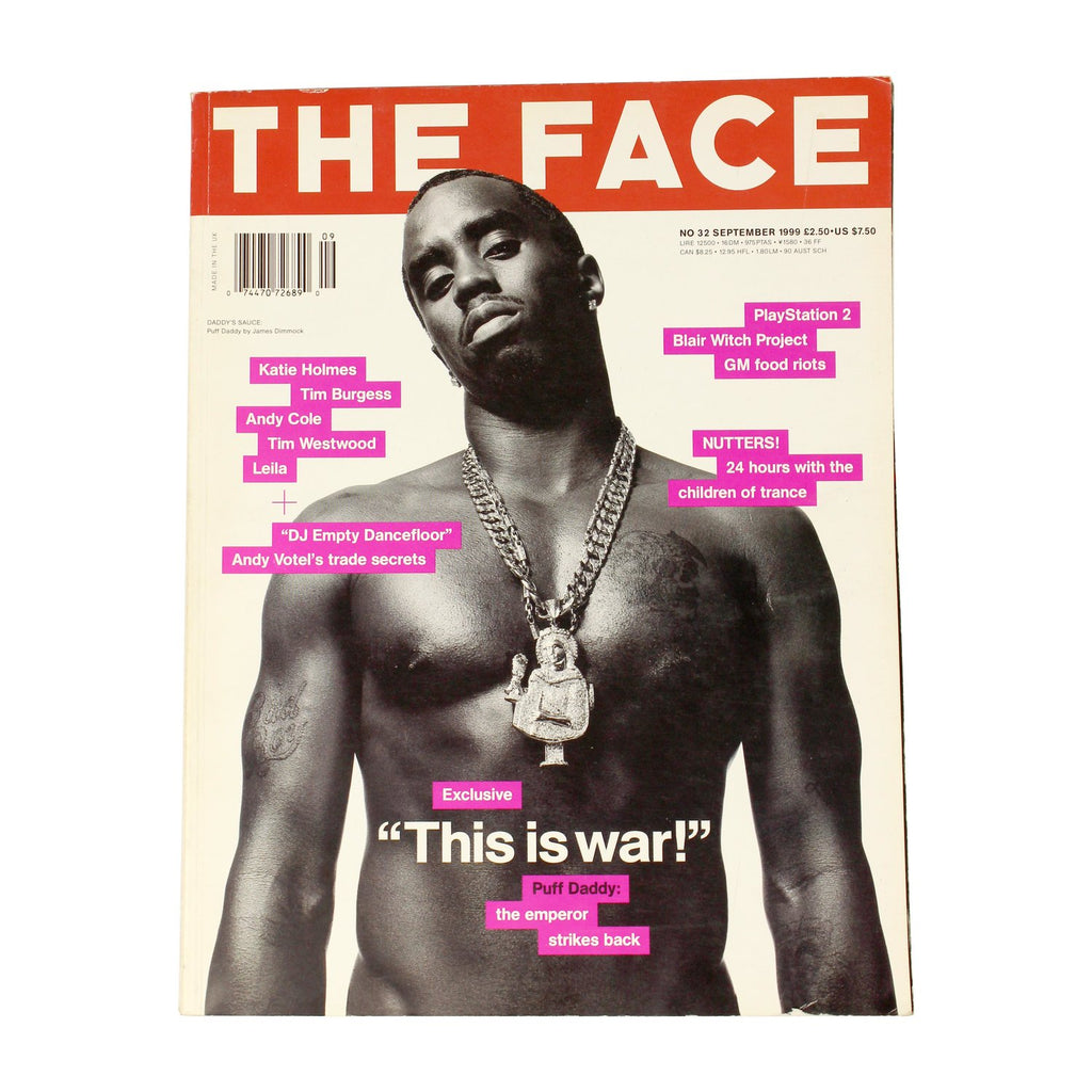 THE FACE 1999 - shop sideara