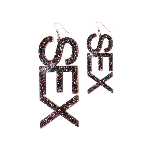 SEX EARRINGS : 2 SIZES! - NIN3 shop till you pop