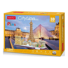 Cubic Fun City Line Paris