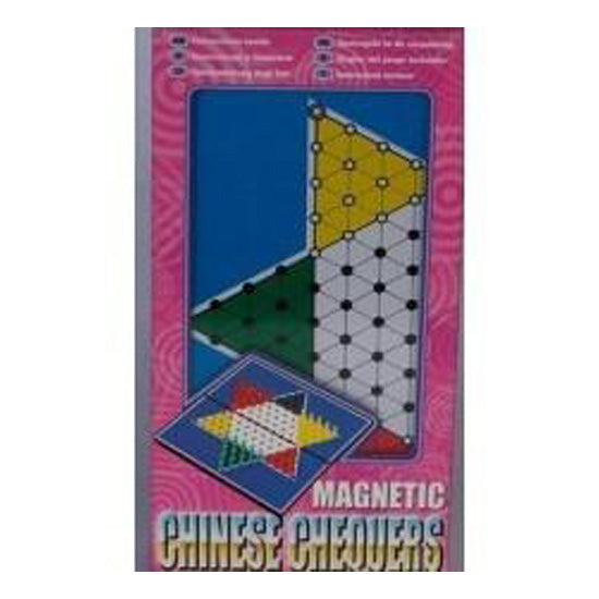 Magnetic Chinese Checkers 8""