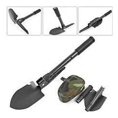 Folding Shovel and Pick 4in1