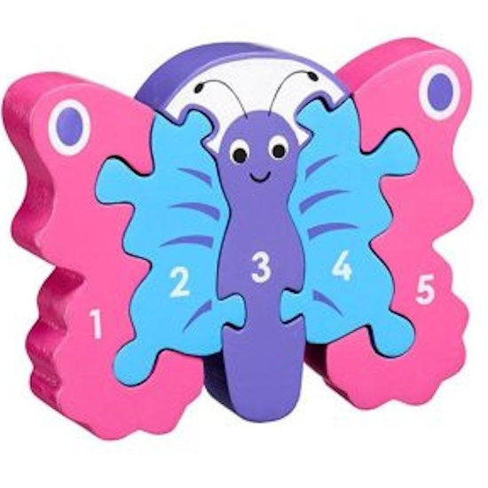 1-5 Puzzle, Butterfly