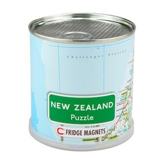 New Zealand:100 piece Magnetic Puzzle