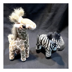 African Wildlife Finger Puppets